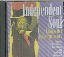 INDEPENDENT SOUL - CD - 14 Hard To Find Tracks From The 80's - BRAND NEW