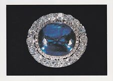 Jewels/Treasures of the Romanovs Russian Imperial Court POSTCARD Sapphire Brooch