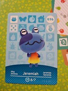 Animal Crossing Amiibo Jeremiah 076