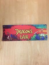 "Tin Sign ""Dragon's Lair"" Video Game Wall Decor"