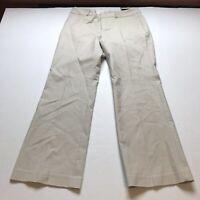 Banana Republic Jackson Fit Trouser Leg Tan Pants Size 10S 10 Short A300