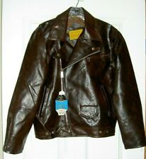 Vintage Just Jax Faux Leather Pleather Motorcycle Bomber Jacket Size Small Nwt