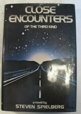 Close Encounters Of The Third Kind A Novel By Steven Spielberg 1977 Hard Cover