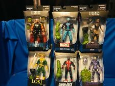 Marvel Legends Marvel Series Hulk complete baf lot of 6