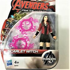 3.75 SCARLET WITCH MARVEL AVENGERS AGE OF ULTRON INITIATIVE Hasbro ACTION FIGURE