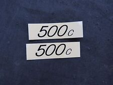 REDLINE DECALS 500c BMX STICKERS VINTAGE NOS FREESTYLE  HANDLEBAR