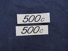 REDLINE DECALS 500c BMX STICKERS VINTAGE NOS FREESTYLE  HANDLEBAR