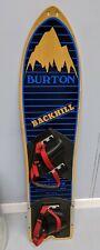 "Vintage Burton ""Backhill"" Snowboard-1984 - Original Shipping Box"