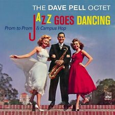 Dave Pell: Jazz Goes Dancing: Prom To Prom & Campus Hop (2 Lps On 1 Cd)