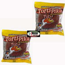 Torti-Pika Natural Fruit Tamarind ( Ate Sabor Tamarido) 2x12-pcs Pavito