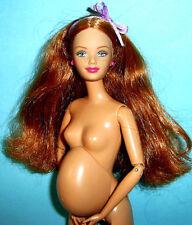 % *** ottime condizioni * BARBIE HAPPY FAMILY * donne in gravidanza Midge * BABY * letto * accessori **%