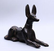Rare Ancient Egyptian Anubis Egypt Antiques Dog Statue Black Stone Bc