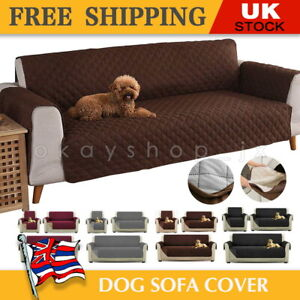 Quilted Sofa Cover Furniture Sofa Slip Covers Waterproof Pet Protector Throw