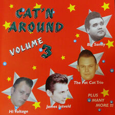 CAT'N AROUND Volume 3 CD rockabilly - NEW - Big Sandy Planet Rockers Barnshakers