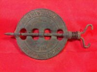 """Griswold New American Cast Iron 5"""" DAMPER Reversible Steel Spindle"""