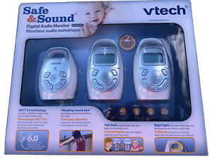 VTech DM223-2 Digital Audio Monitor With 2 Parent Units - In Box