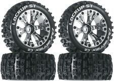 NEW Duratrax Lockup ST Tires Wheels (4) 4WD Stampde Savage XS Flux Front Rear