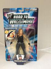 RARE.WWF.WWE.JAKKS PACIFIC.2002.NEW IN BOX.THE UNDERTAKER.ROAD TO WRESTLEMANIA