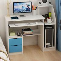 Computer Desk w/Drawer Shelf Laptop Office Desk Home Modern Small Study Desks