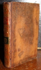 1796 The Poetical Works of Edmund Waller Cooke Edition Tree Calf Illustrated