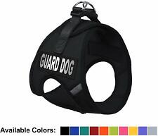 Soft Mesh Dog Harness No Pull Step In Vest Small Medium Pet w Guard Dog Patches