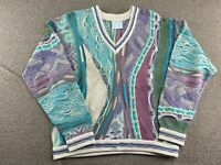 Coogi Sweater Pastel Colors Biggie Smalls Notorious BIG Colorful Australia VTG