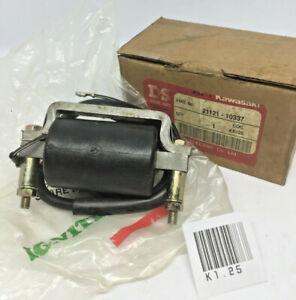 Kawasaki KE100 KE125 KS125 MC1 KM100 KD 80 100 125 G4TR G5 Ignition Coil Assy 6V