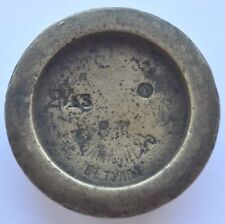 19th Century Imperial Russia Solid Bronze Weight 102 gr