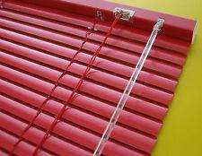 Aluminium Alu Jalousie Jalousette Fenster Rollos Lamelle Rollo Rot 90 x 130 cm