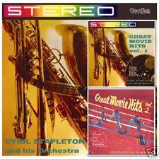 Cyril Stapleton Great Movie Hits Vols. 1 & 2 1960s CD