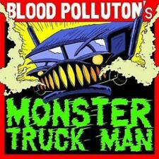 "Blood Pollution ""MONSTER TRACK MAN"" MCD [Russian violenza simulata Dirty thrash 'n' roll]"