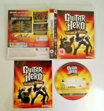 Guitar Hero World Tour~ PS3 ~ great condition~ complete