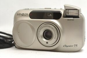 @ Ship in 24 Hrs @ Discount! @ Minolta Capios 75 Macro Film Point & Shoot Camera