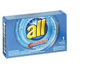 ALL Stainlifter Powder Vending Laundry Detergent, 100 Boxes (VEN 2979267) SEALED