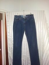Capture Ladies jeans mid rise Lean Jean size 10 blue denim