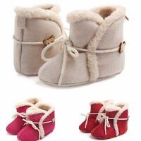 les marcheurs la laine chaussures de bébé des bottes chaudes prewalker fond mou