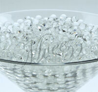 16 PKS CLEAR WATER BEADS SOIL CRYSTAL BIO GEL BALL PARTY WEDDING VASE FILLER