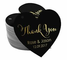 Thank You Wedding Craft Foil Personalized Hang Tags-SH10_3BG