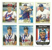 GREGORIO PETIT Signed/Autographed 2008 TOPPS HERITAGE HIGH # CARD #617 w/COA