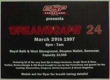 ESP Dreamscape 24 ~ Westworld @ Royal Bath And West SG, 29/03/97 Rave Flyers