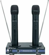Vocopro VHF-3300 2 Channel VHF Dual Rechargeable Wireless Microphone System