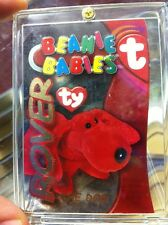 ROVER the Dog 1999 TY BEANIE BABIES Card S3 Buddy GOLD 005/100 Rare