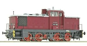 Roco 70260, Ho Scale, Class V60   0-8-0  Diesel Hydraulic Locomotive DR  maroon