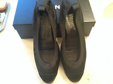 Authentic Chanel Black Ballet Flats