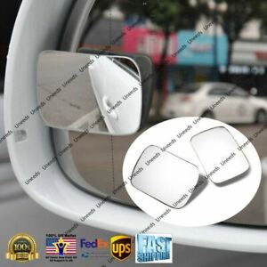 Blind Spot Mirror Wide Angle Rear View Side Mirror 3M Adhesive for Mercedes-Benz