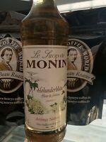 Monin Holunderblüte 700ml aromatischer Sirup perfekt zum mixen