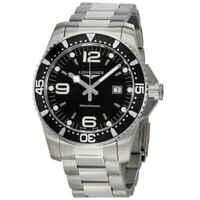 Longines HydroConquest Black Dial Men's Watch L38404566
