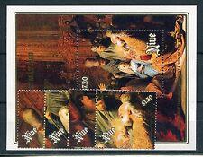 Niue 748/51 Block 115 postfrisch / Weihnachten - Gemälde .................1/3636