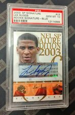 Lee Suggs 2003 SP Signature Edition Blue Rookie Auto PSA 10 Gem Mint Browns