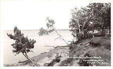 Michigan MI RPPC Postcard PRUDENVILLE c1950 HOUGHTON LAKE Johnson's Resort